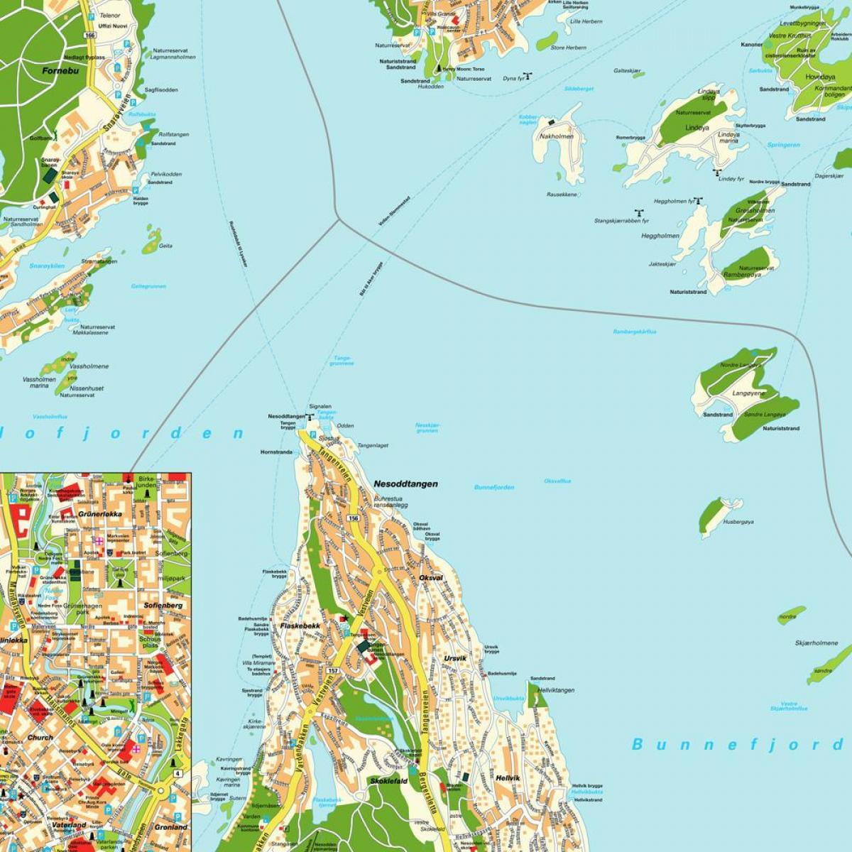 oslo Norway map world